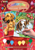 НАБОР ДЛЯ ТВОРЧЕСТВА SEQUIN ART PAINTING BY NUMBERS JUNIOR-PAIRS DOGS
