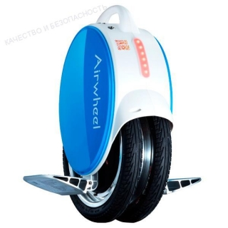 Моноколесо AIRWHEEL Q5+ 170WH (белый/синий)